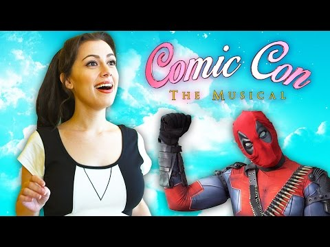 Comic Con The Musical Featuring Whitney Avalon