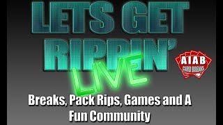 Let's Get Rippin' - Friday Jan 24 - Live Baseball Card Breaks and Rips