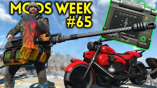 Fallout 4 TOP 5 MODS PC XBOX Week 65 - DRIVEABLE MOTORCYCLE, PIP-PAD, DIAMOND CITY EXPANSION