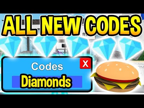 All New Restaurant Tycoon 2 Codes Free Release Roblox Youtube