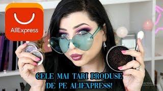 CELE MAI TARI PRODUSE DE PE ALIEXPRESS! Pensule, make-up, accesorii