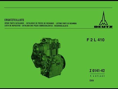 Recovery old German Diesel DEUTZ F2L410 (music BATMAN-3 C64 Matthew Cannon)