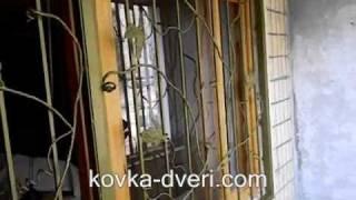 установка кованых решеток на балкон(http://kovka-dveri.com/okno_rewetki_na_balkon.HTML - монтаж кованых решеток на балконный блок: монтаж решетки с замком на балконную..., 2011-04-17T07:47:05.000Z)