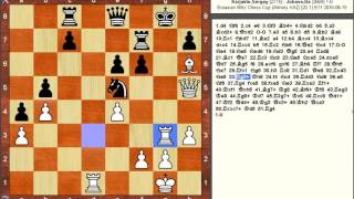 Chess Game: Sergey Karjakin (RUS) vs Baadur Jobava (GEO)