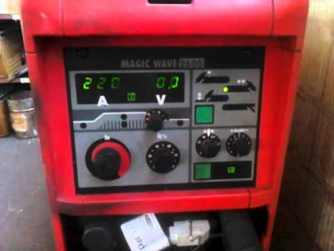 Fronius Magicwave 2600 No Max Welding Current Youtube