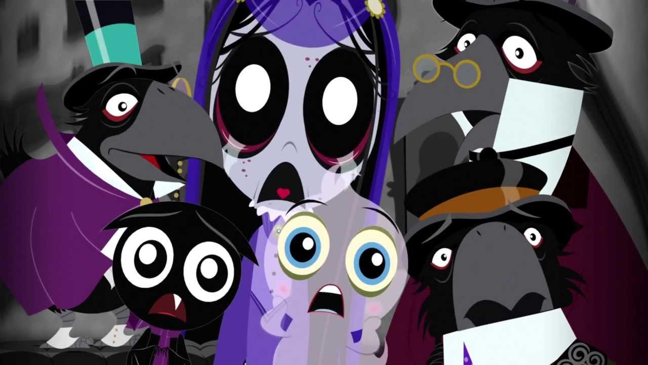 Girl And Boy Cartoon Wallpaper Ruby Gloom 1x04 Missing Buns Youtube