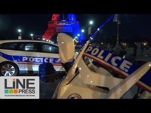 Tentative d'attentat à la tour Eiffel / Paris - France 05 août 2017