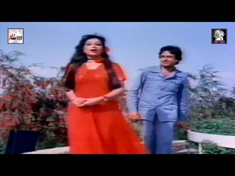 CHAMAN CHAMAN - AKHLAQ AHMED & NAYYARA NOOR - AAHAT - PAKISTANI FILM SONG