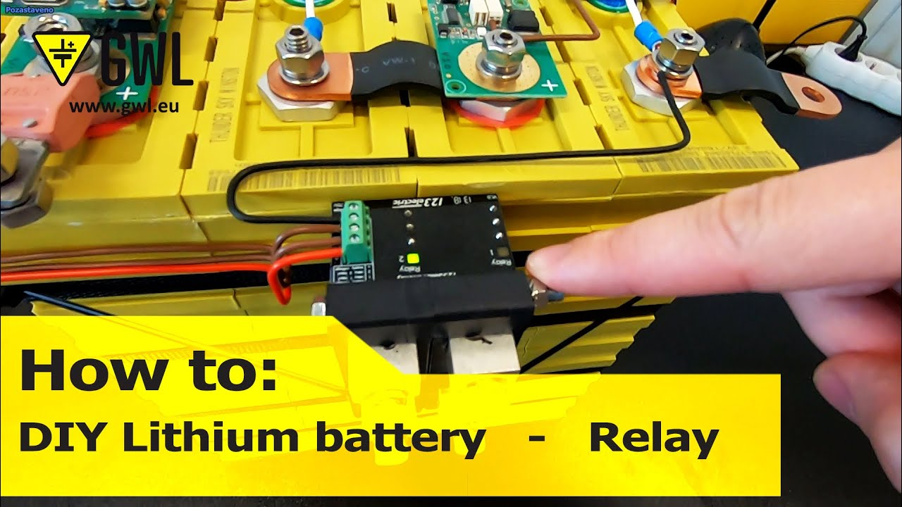 GWL/Power: Installing BMS123 Smart to 4 Winston Battery