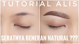 Cover images ALIS SERAT NATURAL TUTORIAL (SCRATCH EYEBROW)