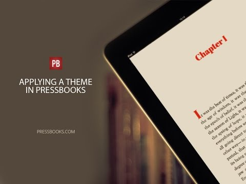 How to Design and Layout Your Book Using Pressbooks