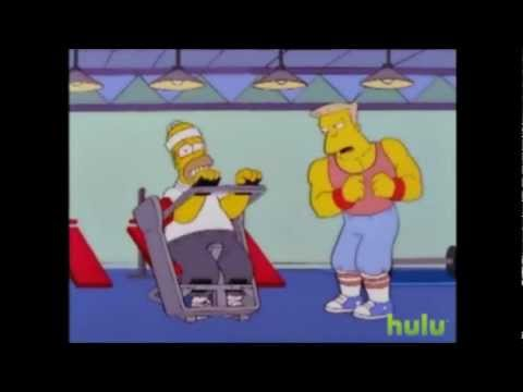 *The Simpsons* Whats A Gym