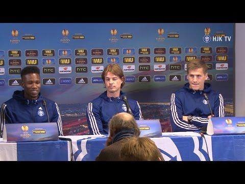 HJK TV: Press conference HJK Helsinki - FC København 26.11.2014