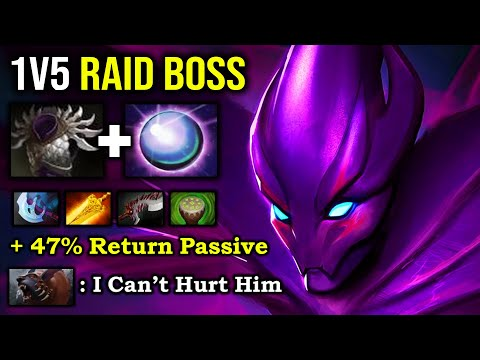 ULTRA 1v5 RAID BOSS HERO Even Ursa Can't Hurt Crazy Spectre + Insane Farm Speed 7.27a IMBA DotA 2 from YouTube · Duration:  27 minutes 48 seconds