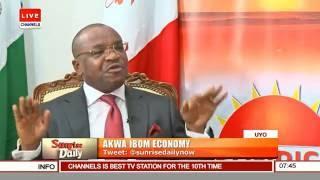 Udom Emmanuel, Gov Akwa Ibom Speaks On Developments In The State Pt.1