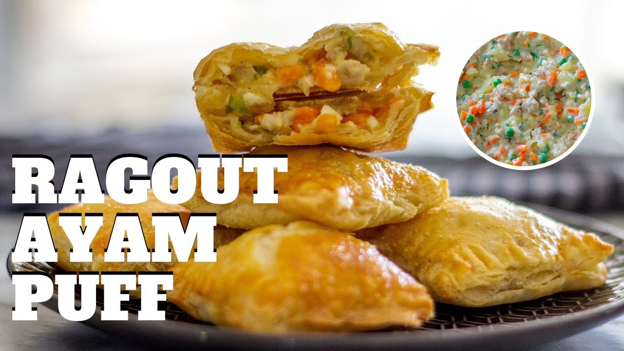 Chicken Pot Pie Pockets Resep Ragout Ayam Puff Pastry Culinary Arts Pastry Youtube