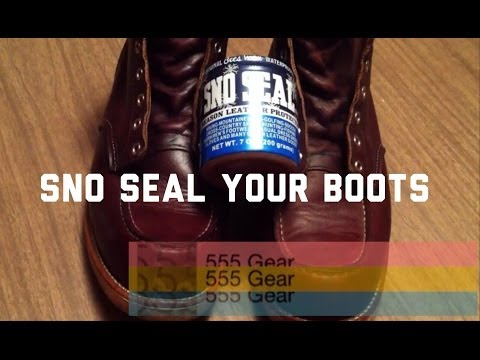 How-To: Waterproof Red Wing 8138 Heritage Boots with Sno Seal