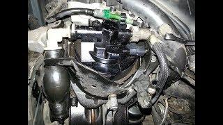 Remplacement du filtre à carburant sur moteur 2.0L HDI.