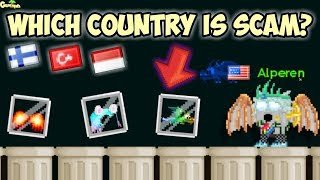 Which Country Is Scam ? ( Got Scammed ) | GrowTopia