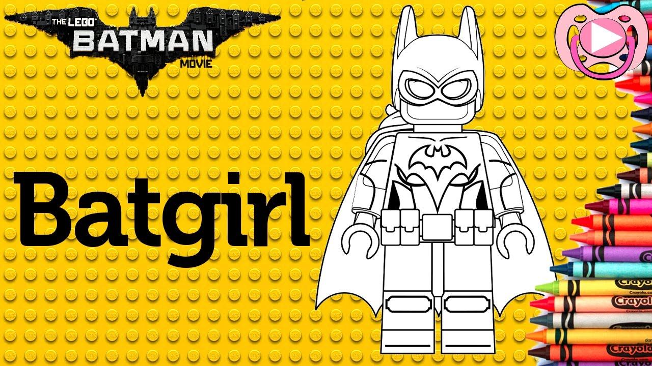 Lego Batman 2017 Colorir A Batgirl Youtube