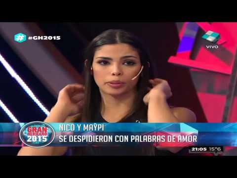 María Paz recordó a Nico y lloró por los que hablan sin conocerla