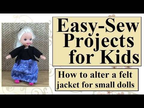 Easy Sewing Projects for Kids How to Make Simple Alterations