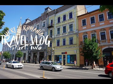 Travel Vlog | We're in Romania | Part Two