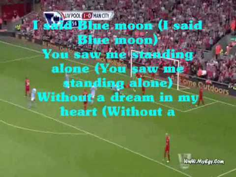 Manchester City Anthem Blue Moon [with lyric]