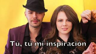 Jesse y Joy Chocolate Español Karaoke Cover Backing Track + Lyrics Acoustic Instrumental