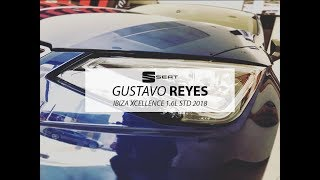 SEAT IBIZA XCELLENCE 1.6L MPI AZUL MEDITERRANEO CON GUSTAVO REYES
