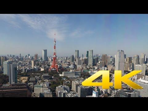 "Tokyo Seaside Top Observatory - 展望台""シーサイド・トップ"" - 4K Ultra HD"