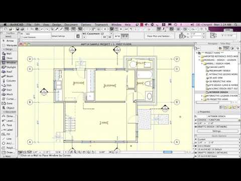 Adding Automatic and Manual Zones - ArchiCAD 18 Training Series 3