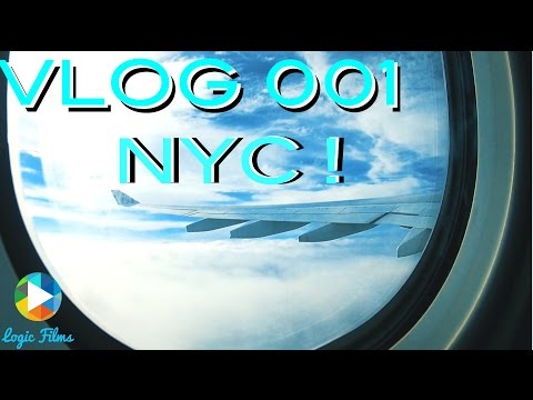 NYC VLOG 001 : Going to New York and meeting Rockstar!