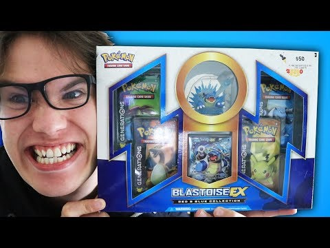 Download Youtube: Opening a Pokemon Red & Blue Collection - Blastoise EX Box!