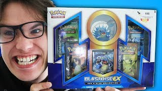 Opening a Pokemon Red & Blue Collection - Blastoise EX Box!