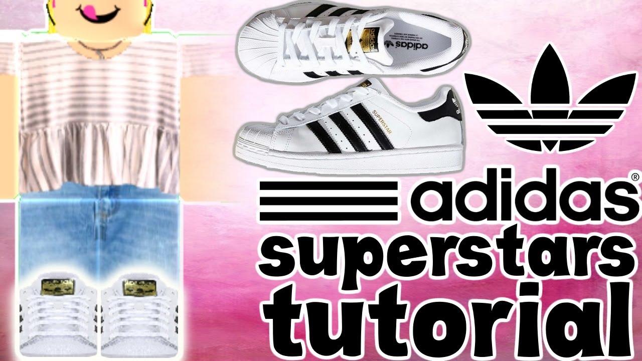 Adidas Superstars Shoe Tutorial || ROBLOX