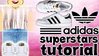 Adidas Superstars Schuh Tutorial || ROBLOX