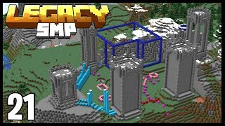 FANTASY MEGA BASE PROGRESS!! | Minecraft Legacy SMP | #21