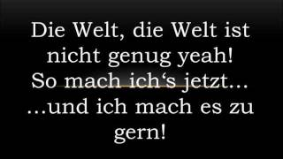 Sido & Bushido - So mach ich es (Lyrics)