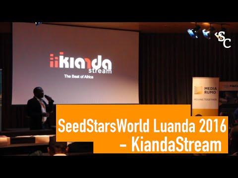 Seedstars World Luanda 2016 - Kianda Stream Pitch