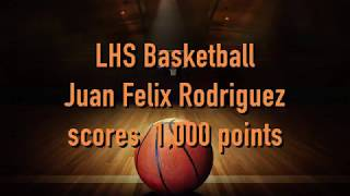 Lancer Juan Felix Rodriguez 1000 points