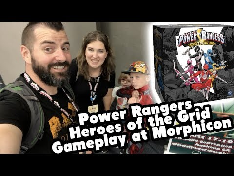 Power Rangers Heroes of the Grid Gameplay at Morphicon