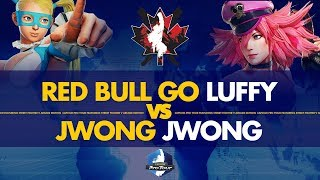 Red Bull GO Luffy (R.Mika) VS JWONG JWong (Poison) - Canada Cup 2019 Pools - CPT 2019