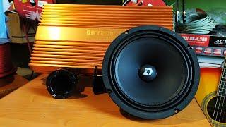 Двухполосная аудиосистема за 23770 рублей на компонентах DL Audio