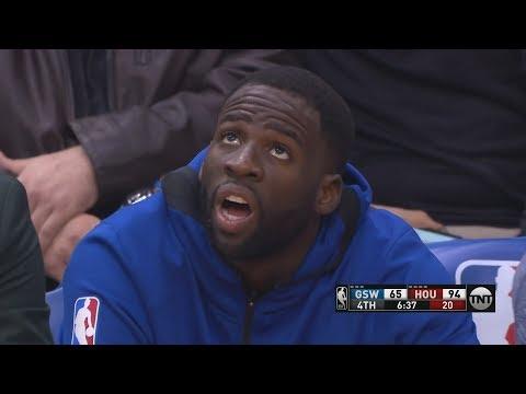 Draymond Green 0 Points! Rockets Dominate Warriors! 201819 NBA Season