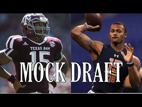 2017 NFL Mock Draft 6.0 - Three Round Mock Draft!