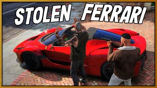 GTA 5 Roleplay - Guy Steals my Ferrari but I Get Cops to Arrest Them | RedlineRP #849