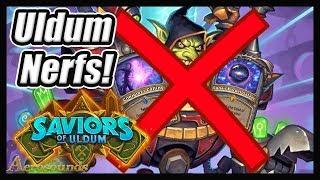 R.I.P Mage! Nerfs Have Been Announced! Saviors Of Uldum Balance Update Hearthstone