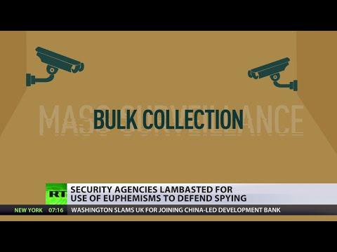 Orwellian Euphemisms: It's not 'mass surveillance', it's 'bulk collection' now