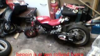 minibike scooterblok snel
